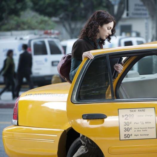 taxi ludzie